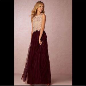 Jenny Yoo Tulle Skirt Size 0